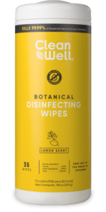 Botanical Disinfecting Wipes 35 ct