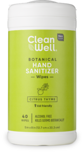 Botanical Hand Sanitizer Wipes CT 40ct